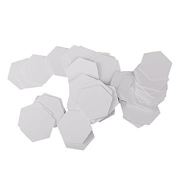 sgerste 100 Stück Sechseck Form Papier Quilting Vorlagen Papier ...
