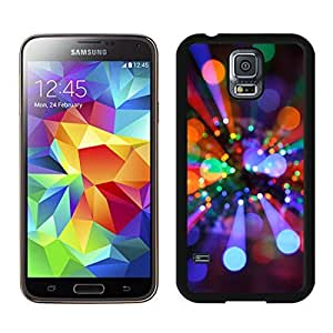 Provide Personalized Customized Christmas lights Black Samsung Galaxy S5 Case 1