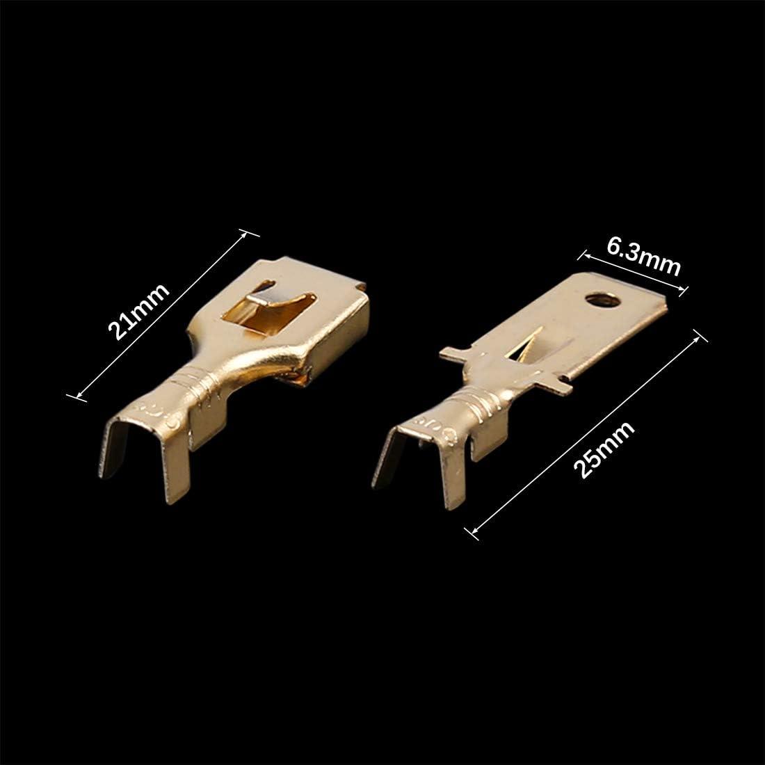 X AUTOHAUX 8 Conjuntos De Conectores De Cable El/éctrico De Veh/ículo De 3 Pines Carcasa Terminal Macho Hembra