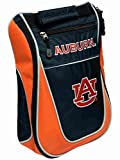 Team Golf Auburn Tigers Navy Orange Zippered Carry-On Golf Shoes Travel Bag