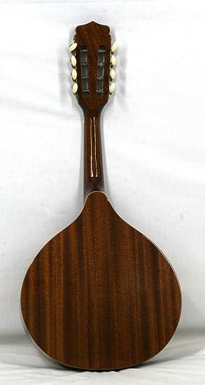 Musikalia mandolina Plate irlandesa, de instrumento de cuerda, en caoba, Purfle sérigraphié sobre la mesa de Harmonie, Dragon sérigraphié a la roseta, ...
