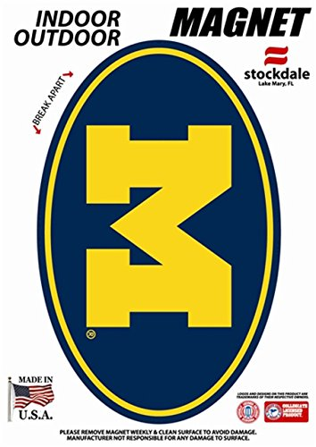 University Magnet Pack - WinCraft Michigan, University of S90806 Outdoor Magnets