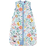 The Gro Company Wild Garden 1.0 Tog Front Zip Grobag for 18-36 Month Babies,