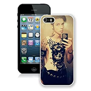 Case For iPhone 5 5S,Andy Biersack White iPhone 5 5S Case Cover