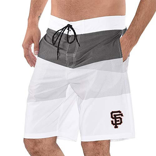San Francisco G-III Sports by Carl Banks Active Swim Trunks - Black (X-Large) - Shorts Francisco Giants Mens San