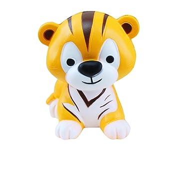 feiXIANG - Tigre de juguete Squishy de estilo Kawaii para ...