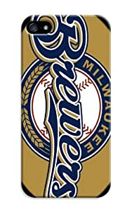 LarryToliver iphone 5/5s Sports Customizable Baseball Milwaukee Brewers Case Hard Shell