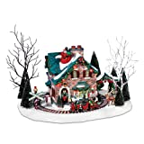 Department 56 Christmas Lane Series Animated Snow Village, Santa