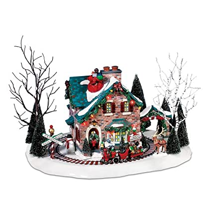 Image of Home and Kitchen Department 56 Santa's Wonderland House