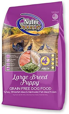 Dog Food: NutriSource Puppy Large Breed Grain Free