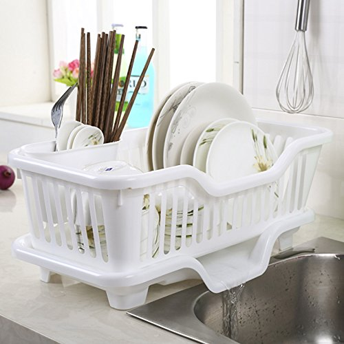 Xhhome Environmental Pp Plastic Kitchen Sink Dish Drainer