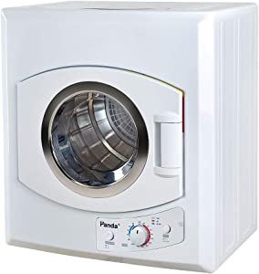 Panda PAN60SF-01 Compact Portable Dryer 3.5cu.ft, White