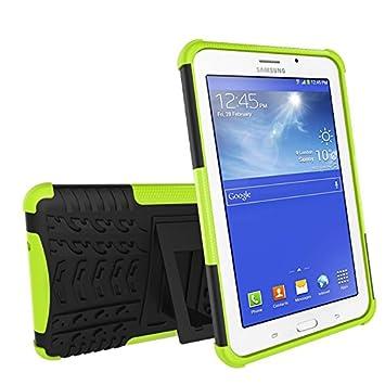 Ngift Heavy Duty hybride double couche r/ésistante aux chocs Enti/èrement B/équille T110/Coque Coque Galaxy Tab 3/Lite Housse de protection pour Samsung Galaxy Tab 3/Lite 7.0/SM-T110//T111