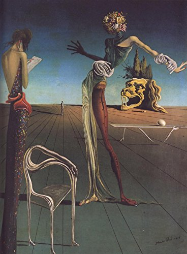 Gifts Delight Laminated 16x22 Poster: Woman with a Head of Roses, 1935 - Salvador Dali (Woman With A Head Of Roses Dali)