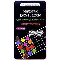 Juego de viaje Magnético Código Secreto–El código Creator VS. El Código Cracker Juego–Coche, juegos de avión y silencioso Juegos
