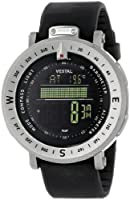 "Vestal Men's GDEDP01 ""The Guide"" Stainless Steel Digital Watch by Vestal"