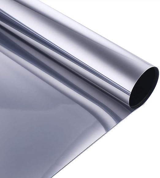 Home Tint Window Film  One Way Mirror Reflective Heat UV Static Cling