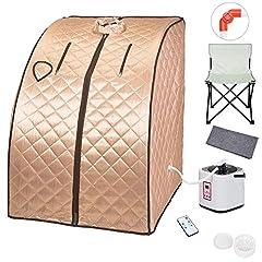 Portable Steam Sauna Kit