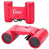 LUQUAN 2.5 X 26 Binocular Mini Telescope For Kids - Red