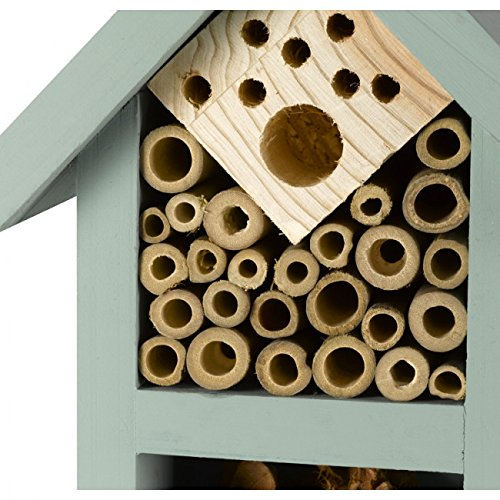 Wildlife World Wooden Timber Nautical Style Bee and Bug House Home