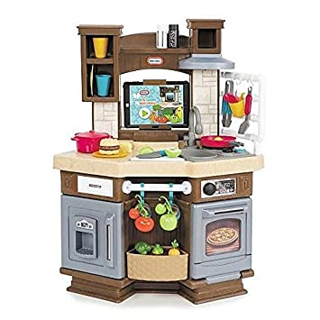 Amazoncom Little Tikes Cook N Learn Smart Kitchen Toys Games - Smart kitchen