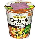 明星 低糖質麺ローカーボヌードル ピリ辛酸辣湯 59g×12個入り (1ケース)