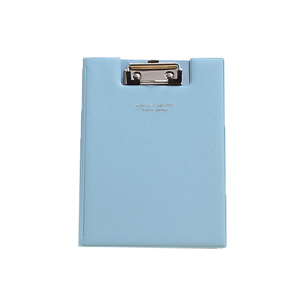 fabl Crew Carino Moda Pelle Cartella Portablocco A5Porta documenti ufficio forniture scolastiche 23.5x17.5cm blau Fablcrew