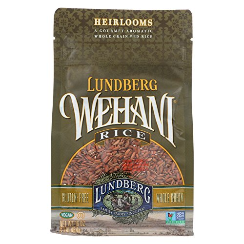 Lundberg Family Farms Wehani Whole Grain Brown Rice - Case of 6 - 1 lb. by Lundberg