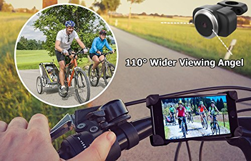Homscam Wifi Bike Camera Rear View Camera Electronic