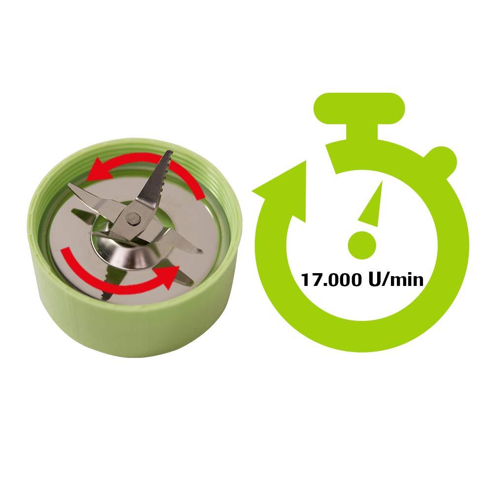 Nutri Express - 3 en 1: batidora, picadora y extractor de zumos - Teletienda BOTOPRO: Amazon.es: Hogar