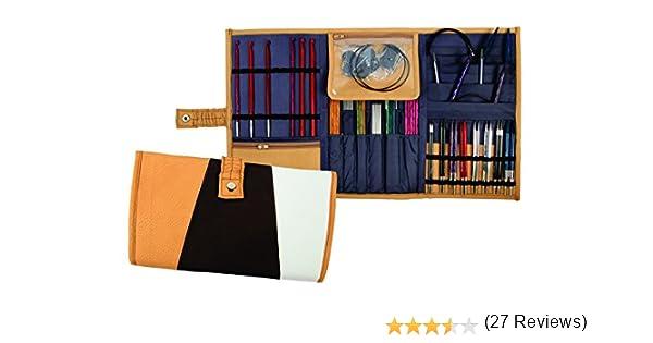 Knit Pro Rhine - Estuche de agujas surtidas (sin agujas): Amazon.es: Hogar