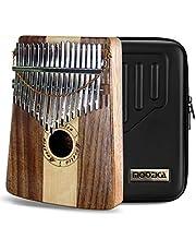 Moozica 17 Key Kalimba, Hoge Kwaliteit Professionele Vinger Duim Piano Marimba Muzikale Gift Met High-Performance Beschermhoes