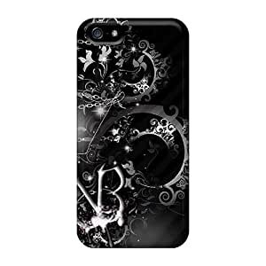 New Fashionable GAwilliam ESd1710GxoF Cover Case Specially Made For Iphone 5/5s(black Veil Brides)