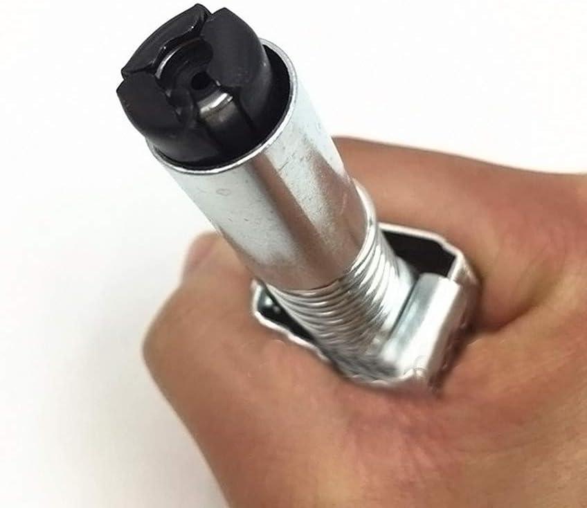 Vipithy Laccoppiatore per pistola ingrassatrice si blocca come il mandrino ad aria compressa misura SAE e raccordo metrico Zerk 1//8 cvz