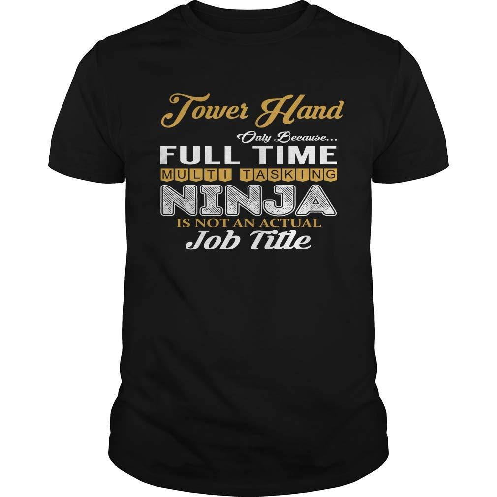 Tower Hand - Multi Tasking Ninja - Job Shirt at Amazon Mens ...