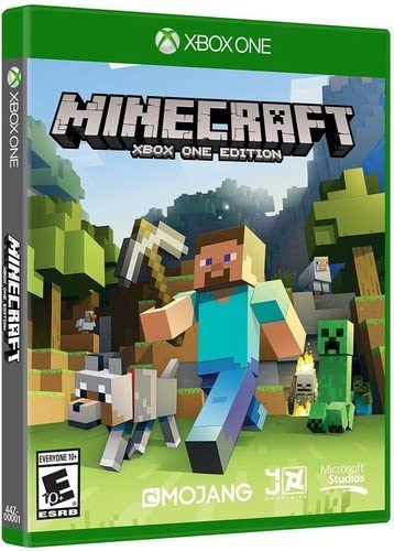 Amazoncom Minecraft Xbox One Microsoft Video Games - Minecraft pc mit xbox spielen
