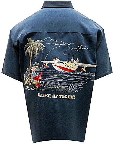 Embroidered Camp Shirt - 5