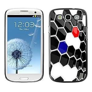 GagaDesign Phone Accessories: Hard Case Cover for Samsung Galaxy S3 - Abstract Hexagon