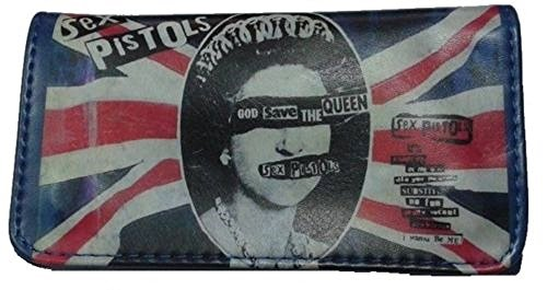 Tobacco Case Pouch Synthetic Leather Smoke For Rolling Cigars Blue Sex Pistols UK Flag by Tfar