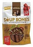 Rachael Ray Nutrish Soup Bones Dog Treats, Real Beef & Barley Flavor, 3 Bones, 6.3 oz