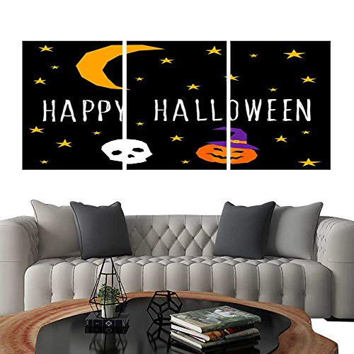 Frameless Paintings 3 Pieces Painting CollectionHappy halloween card template Abstract halloween pattern for design card party invitation poster album menu t shirt bag print etc 8. Hotel Office D -