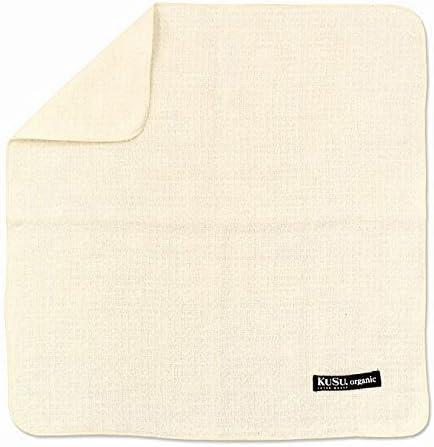 "Japan Imabari Towel /""for Baby/"" Bath Towel 2 sheets White × mustard"