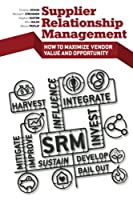 Supplier Relationship Management Front Cover