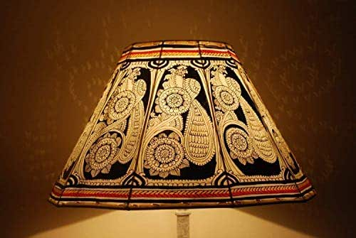 Amazon Com Vintage Style Floor Lampshade Hand Painted