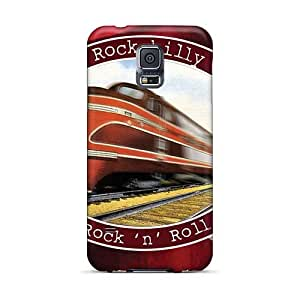 Scratch Resistant Hard Phone Cases For Samsung Galaxy S5 (GVq18812fagb) Custom Beautiful Rolling Stones Pattern