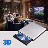 External Blu Ray DVD Drive 3D, USB 3.0 and Type-C