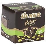 ulker chocolate - Ulker Butun Antep Fistikli Bitter Cikolata Dark Chocolate with Whole Pistachios Turkish Chocolate Pack of 6