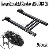 Shalleen RC Radio Transmitter Bracket Metal Mount Support Stand Holder For JR FUTABA