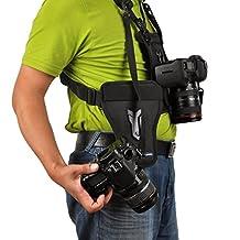 Opteka MCH-25 Multi Camera Carrier Harness Holster System for Digital SLR Cameras