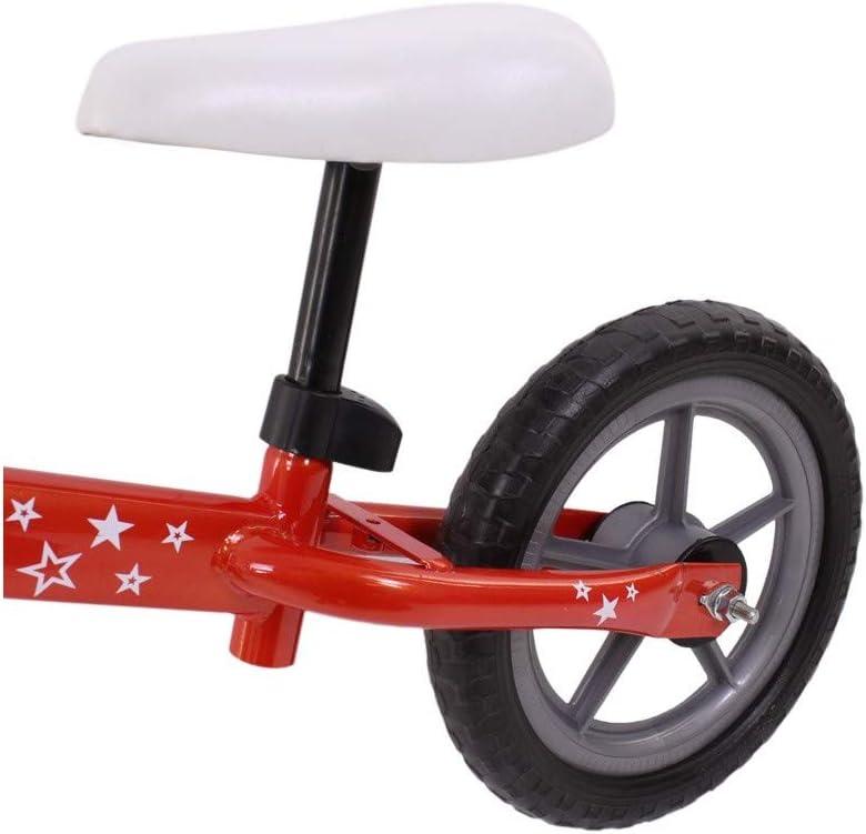 Grupo K-2 Riscko - Bicicleta sin Pedales con sillín Y Manillar Regulables   Ultraligera   Correpasillos Minibike   Bicicleta para Niños de 2 a 5 años Baby Star Rojo Fluor: Amazon.es: Deportes y aire libre